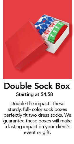 Double Sock Box