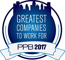 Quality Resource Group (QRG) Named One of the 2017 PPB Greatest Companies To Work For