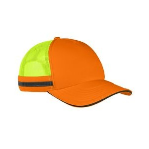 Big Accessories Safety Trucker Cap